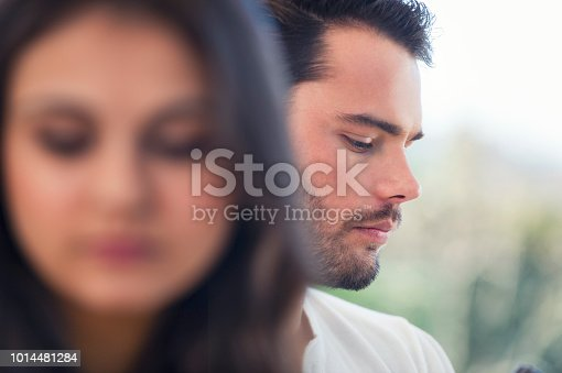 520496686istockphoto Couple fighting at home. 1014481284