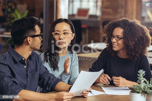 istock Couple getting financial advice 639497426