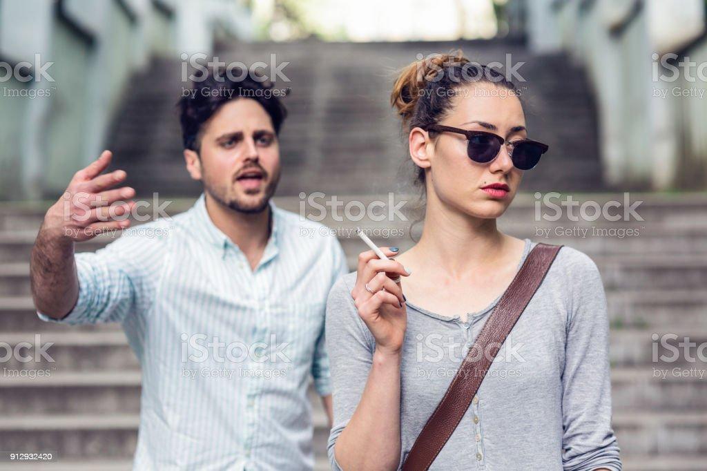 street quarrel