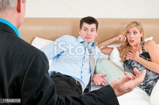 istock Couple got caught cheating - II 175405229
