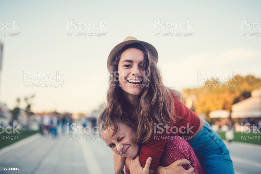 Couple happiness stock photo