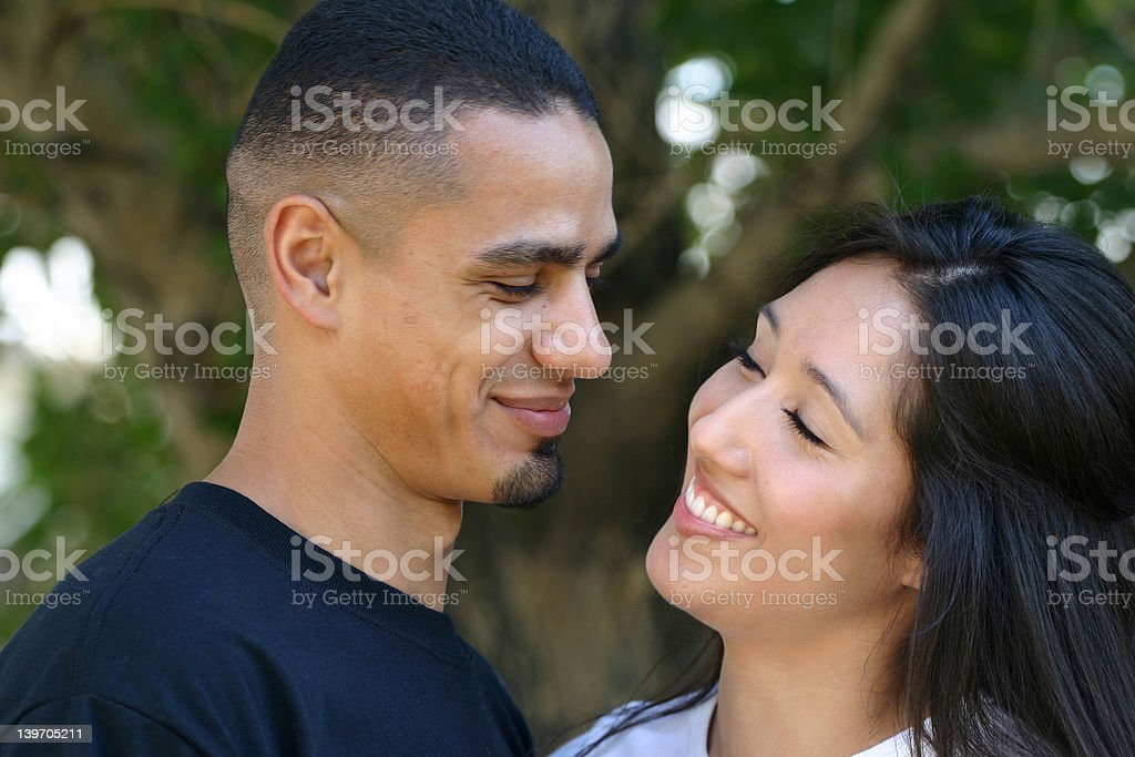Couple Happy royalty-free stock photo
