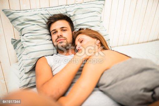 istock couple having fun in the bedroom 641917344