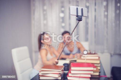 834814926 istock photo Couple having fun 599766402