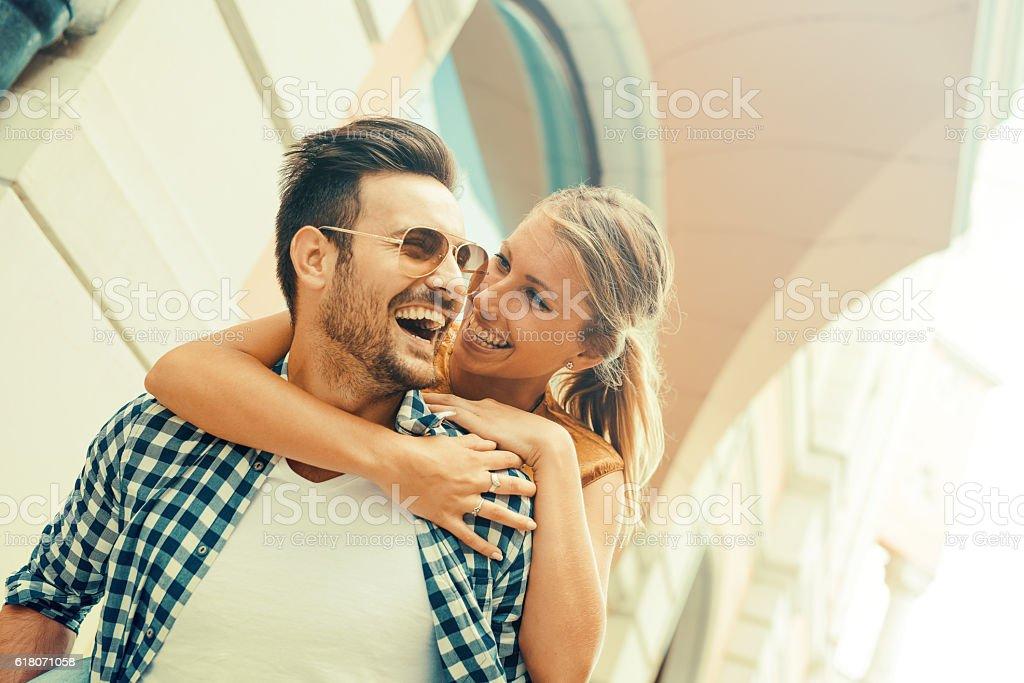 Paar Spaß  – Foto