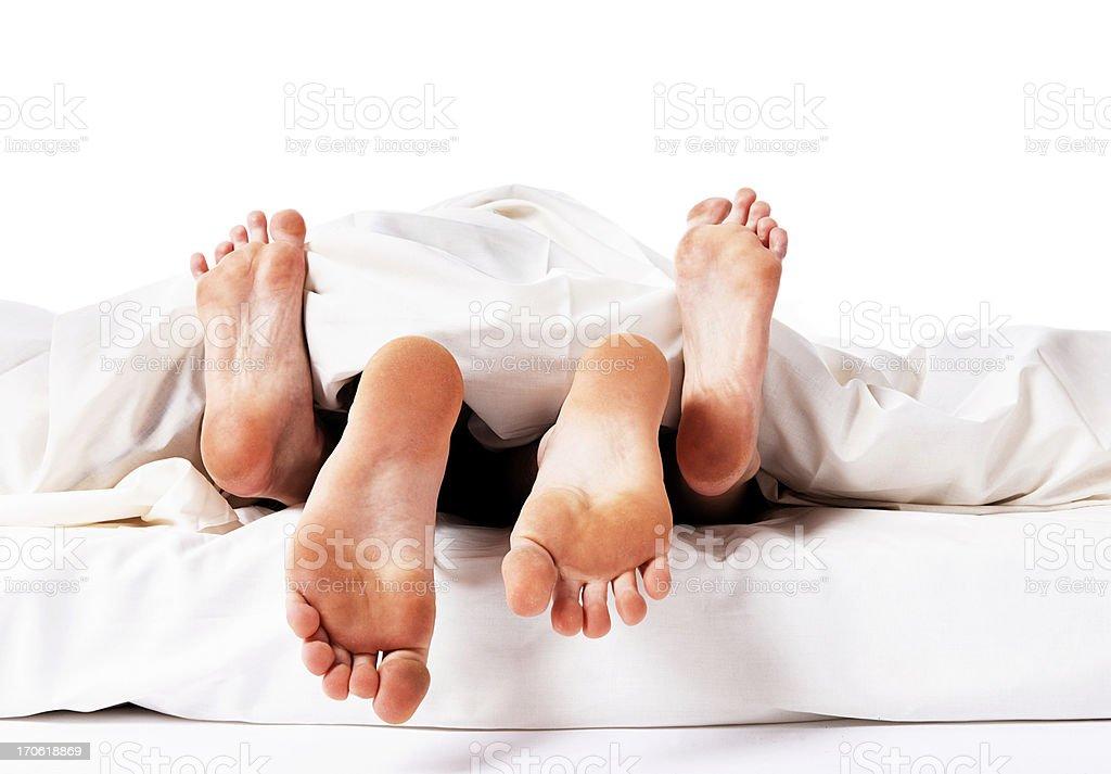Couple having sex royalty-free stock photo