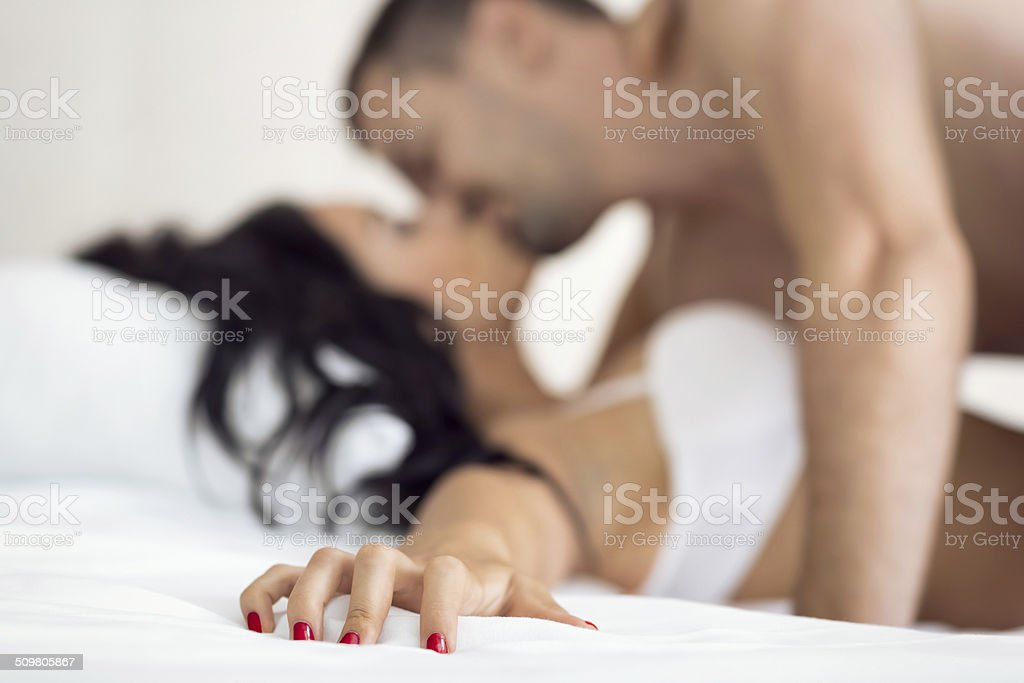Couple having sex stock photo