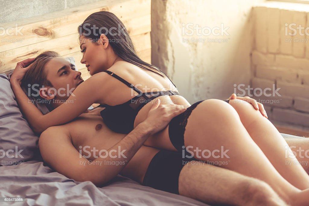 Couple having sex stock photo