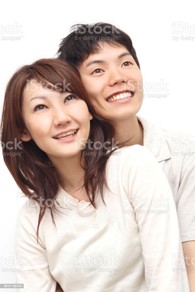 夫婦牽著彼此 免版稅 stock photo