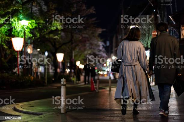 Couple holding hands walking on kiyamachidori street near pontocho picture id1159233949?b=1&k=6&m=1159233949&s=612x612&h=8j syrltmg73owg2nqwcicf5nc0pweadaqlv dh4eoo=