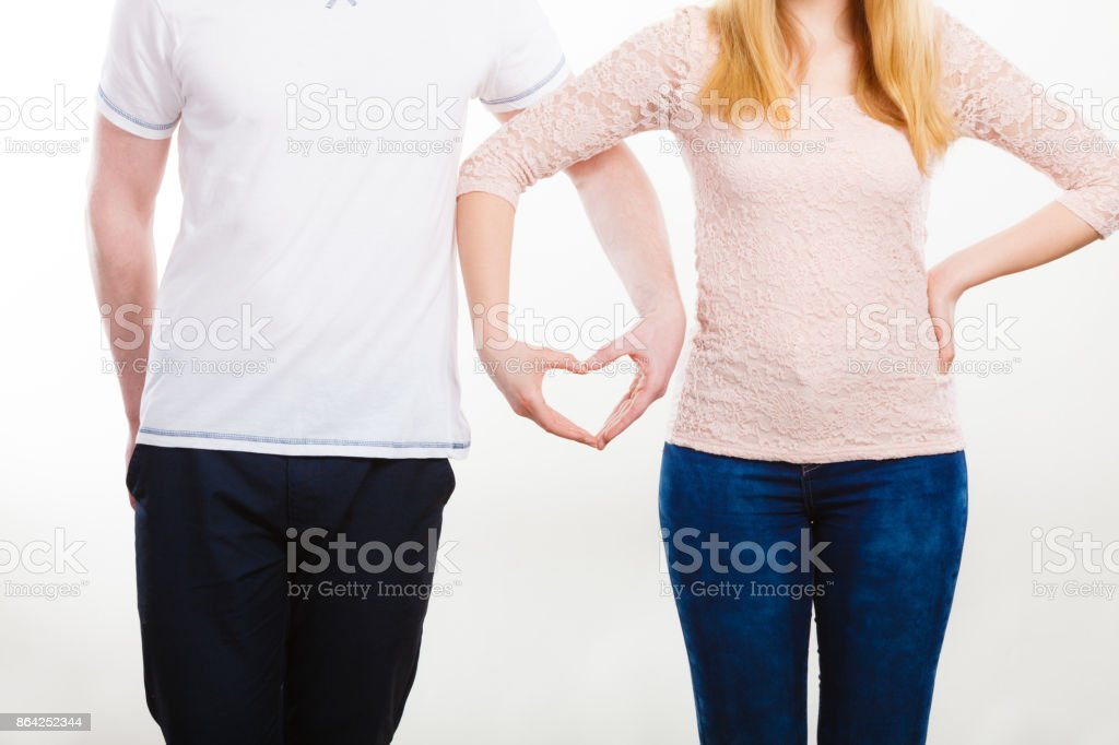 Couple holding their hands. royalty-free stock photo