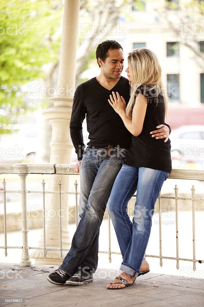 Couple Holiday royalty-free stock photo