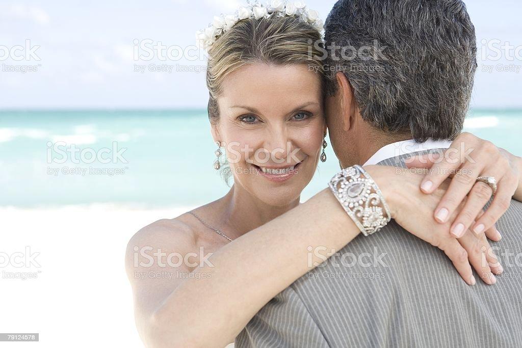 Couple hugging 免版稅 stock photo