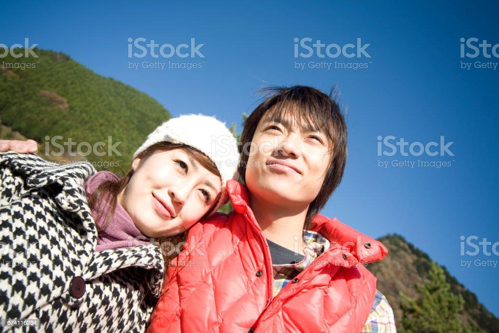 一對夫婦的圖像 免版稅 stock photo