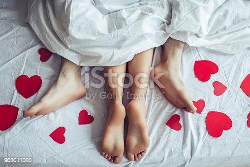 istock Couple in bedroom. 903011020