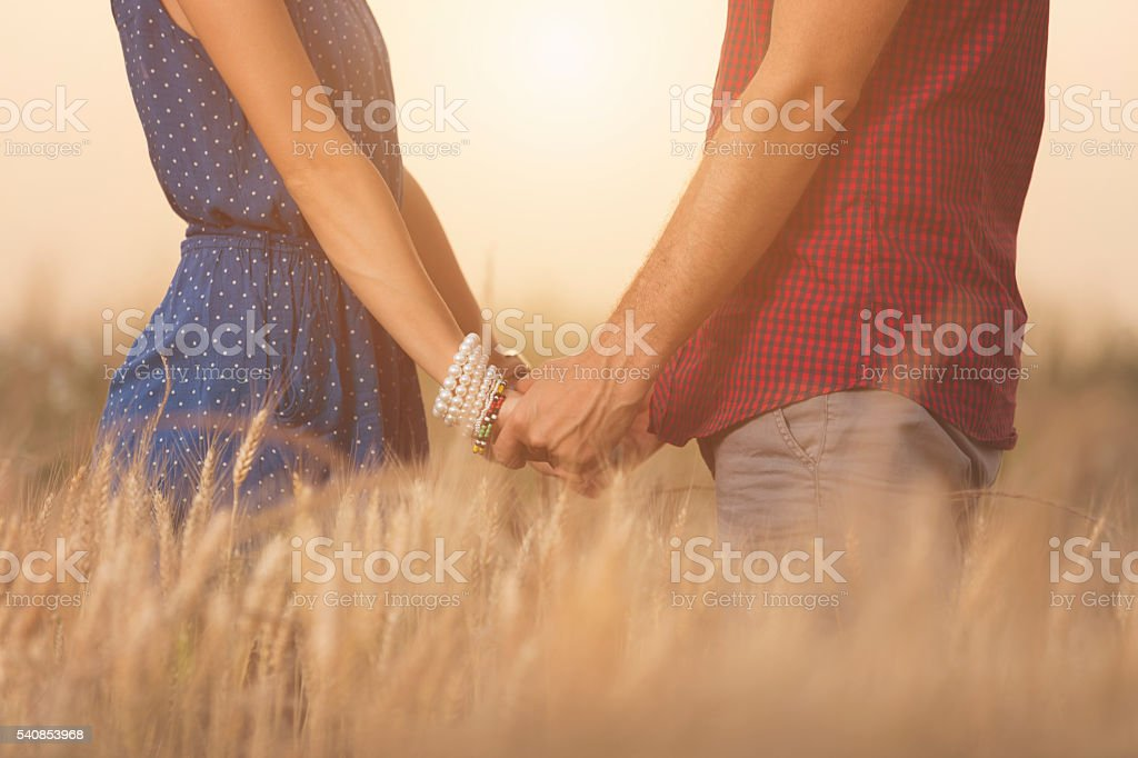 Couple in love. stock photo