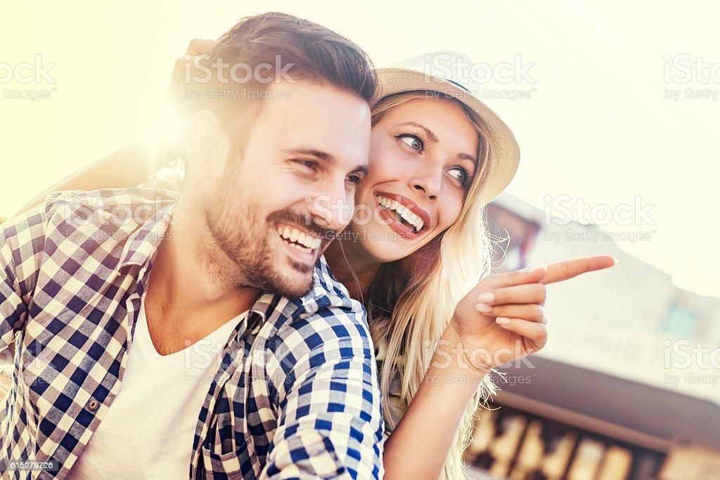 Paar in Liebe  – Foto