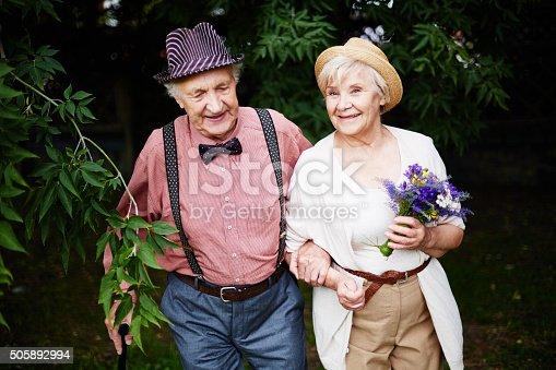 510491454istockphoto Couple in park 505892994