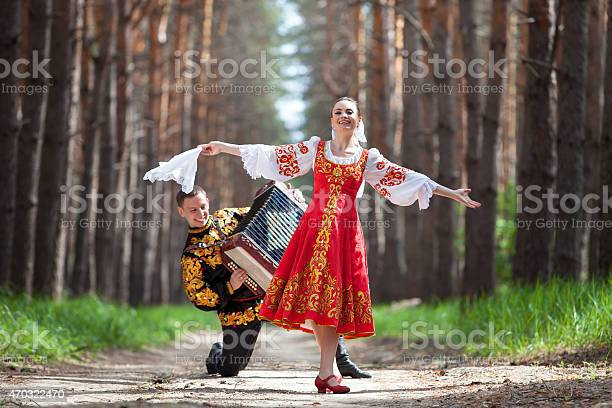 Couple in russian traditional dress on nature picture id470322470?b=1&k=6&m=470322470&s=612x612&h=v8plp3vz1h3yezhsozs1gwcuubyvu0pknwrlkujx8py=