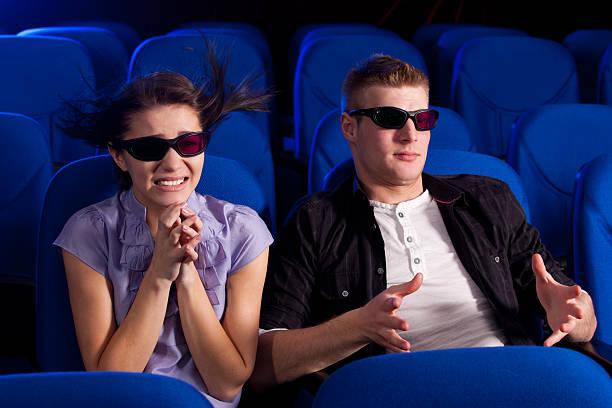 Paar im Kino – Foto