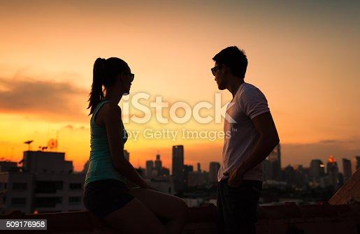 istock Couple in the city 509176958