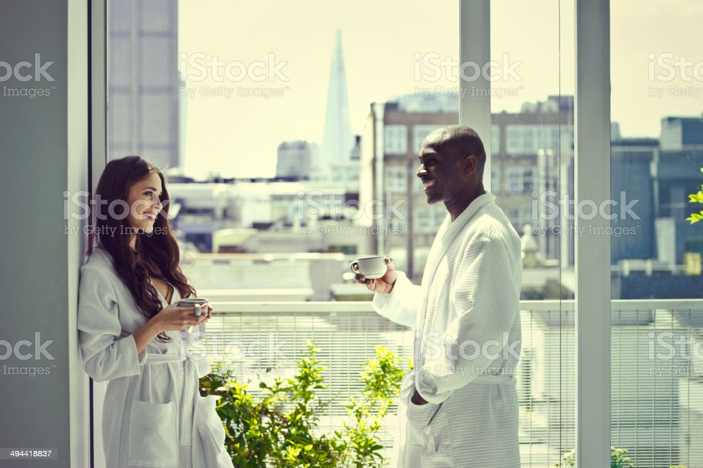 Couple in the morning - Royalty-free Adult Stock Photo