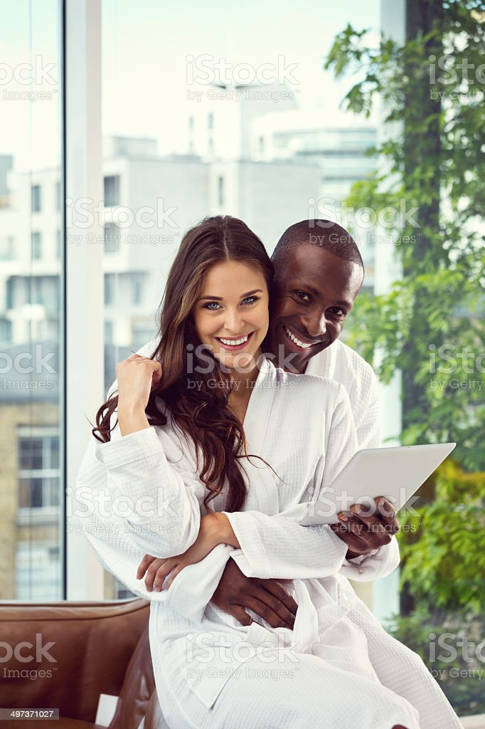 Couple in the morning - Royalty-free 30-39 Years Stock Photo
