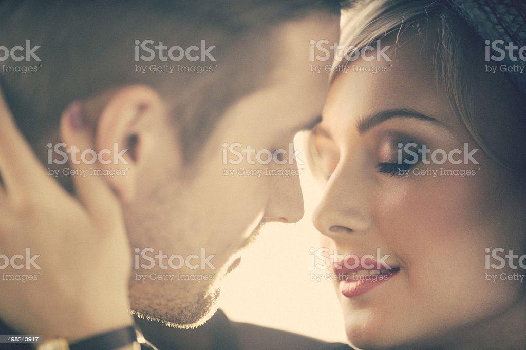 Couple In-Love stock photo