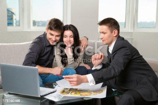 178160166 istock photo couple is considering future apartment design 178160166