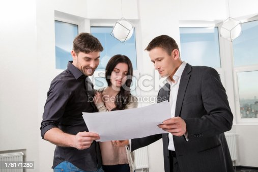 178160166 istock photo couple is considering future apartment design 178171280
