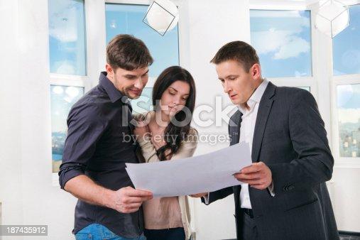 178160166 istock photo couple is considering future apartment design 187435912