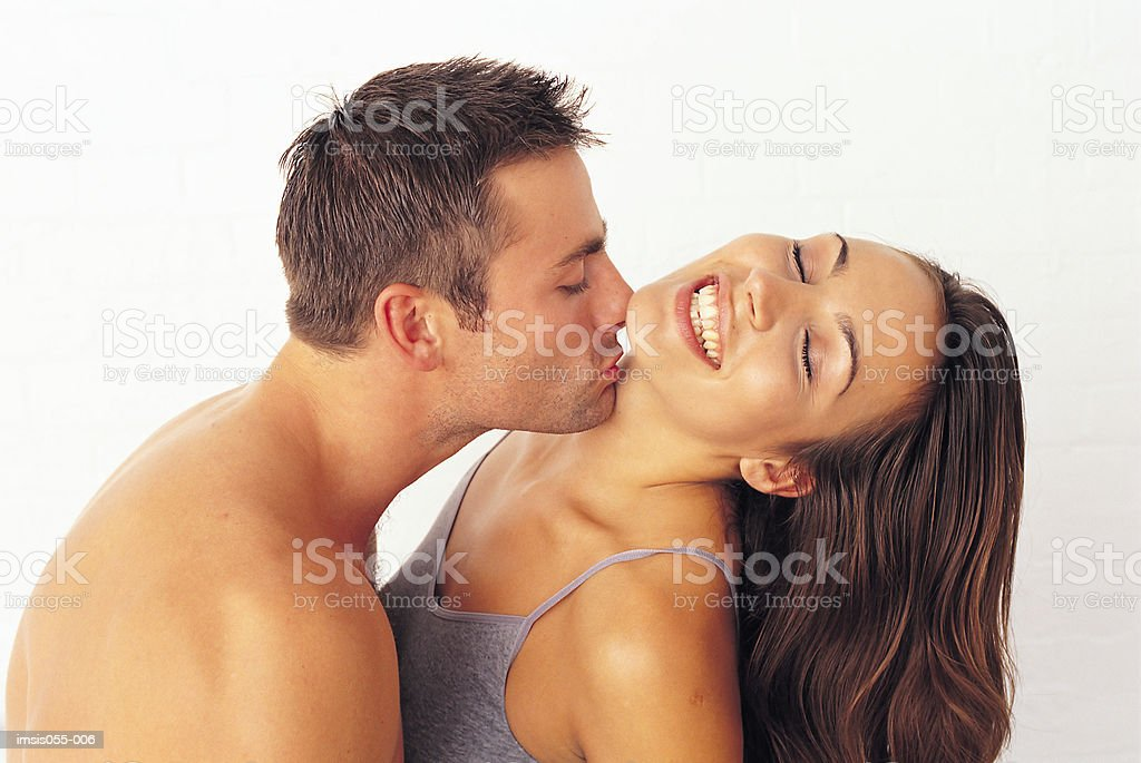 Couple kissing 免版稅 stock photo