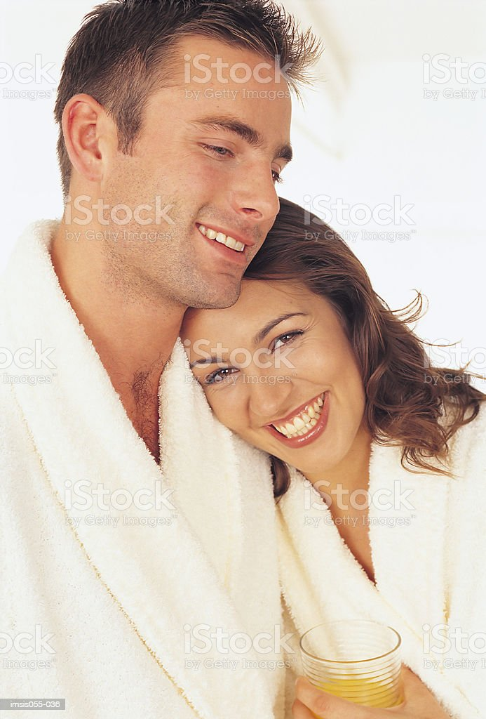 Couple laughing 免版稅 stock photo