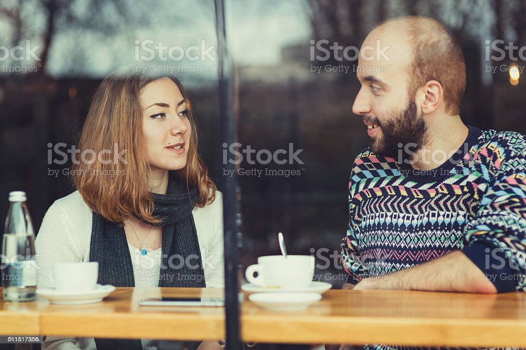 Couple leisure time stock photo