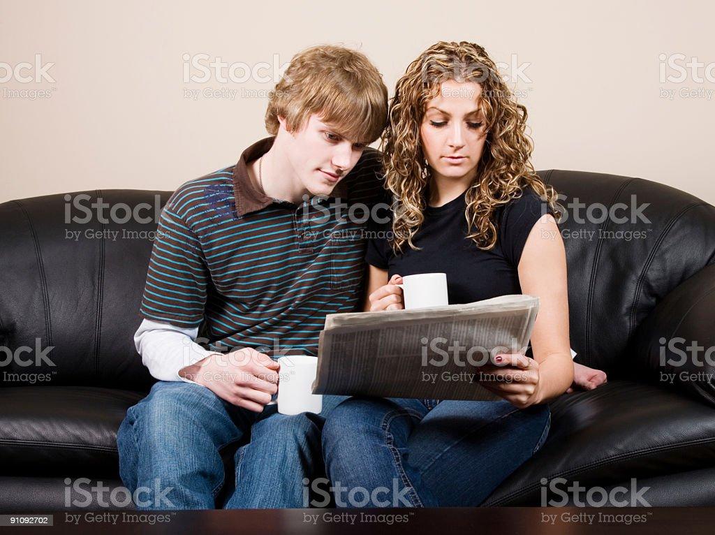 Couple Lifestyle royalty-free stock photo