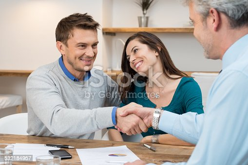 istock Couple make an investment 532184957