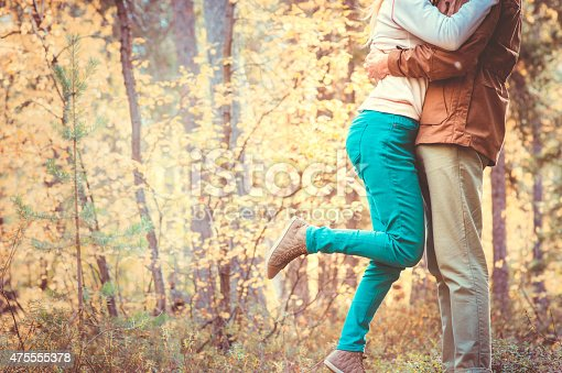 665586146 istock photo Couple Man and Woman Feet in Love Romantic Outdoor 475555378