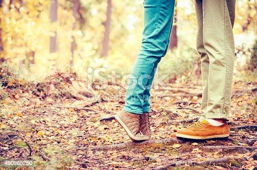 665586146istockphoto Couple Man and Woman Feet in Love Romantic 490965250