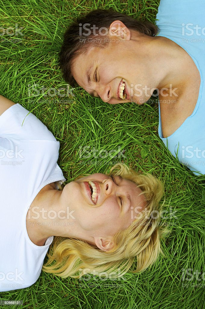couple man and woman royalty-free stock photo