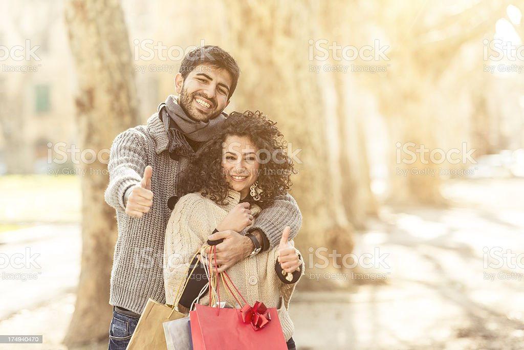 couple of lover happy together royalty-free stock photo