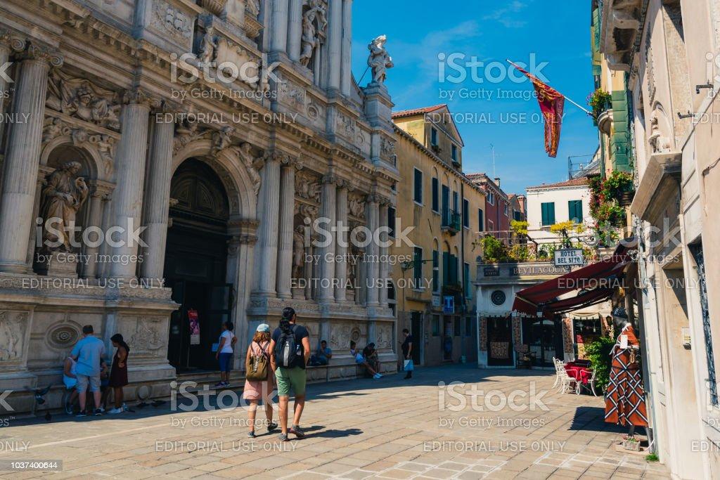 Model Hooker in Venice