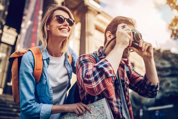 몇 가지 관광객들의 - 관광 뉴스 사진 이미지