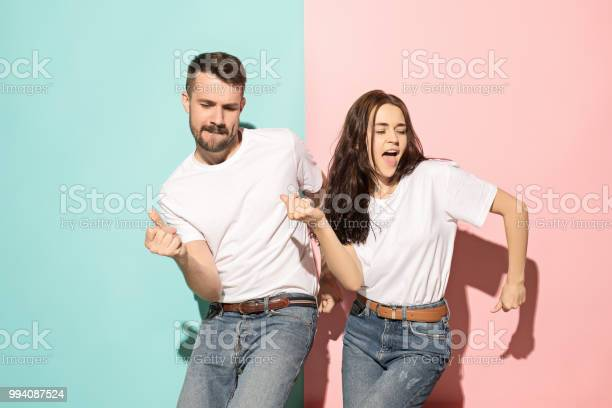 Couple of young man and woman dancing hiphop at studio picture id994087524?b=1&k=6&m=994087524&s=612x612&h= zrd1 l3pjmj2tg0aykkwa2vhg6wp0iwomkxt n syq=