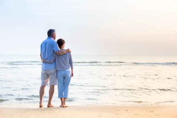 Paar am Strand – Foto