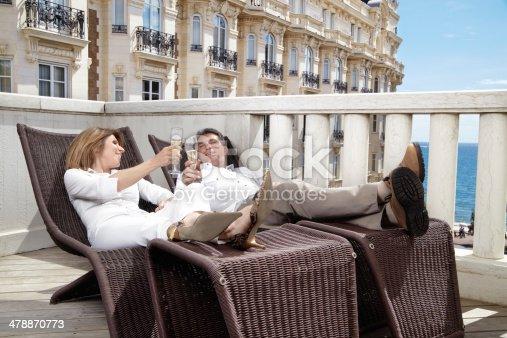 istock Couple On Resort 478870773