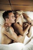 istock Couple on the bed 471207799