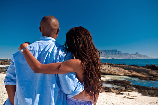 Couple On Vacations Stock Photo - Download Image Now