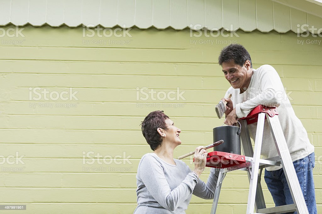 Par de pintura house - foto de stock