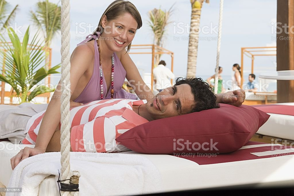 A couple royalty-free stock photo