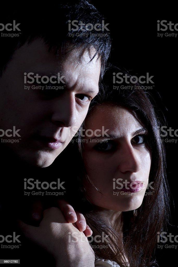 Couple royalty free stockfoto